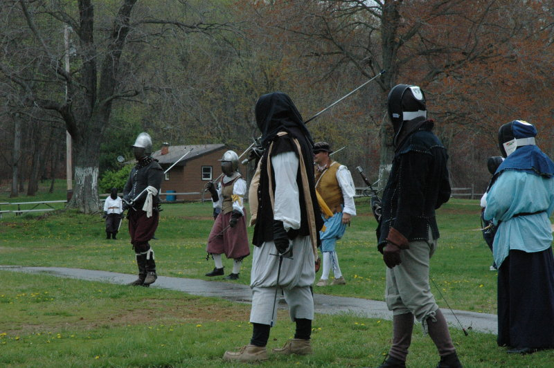 Rapier fighters at Night on